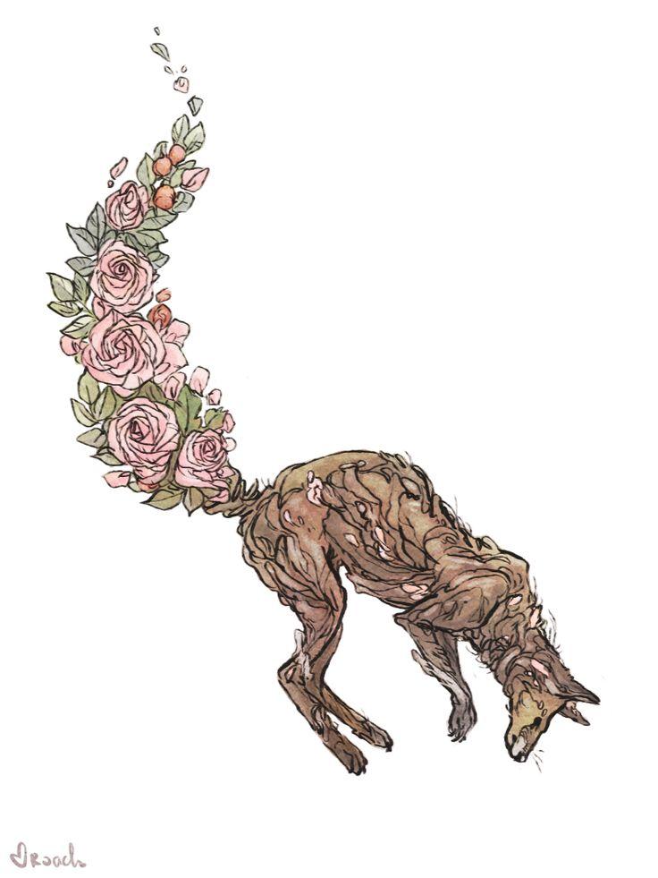 Flower fox. | artsy | Fox tattoo, Gorgeous tattoos, Flower ...