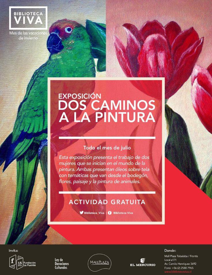 """Exposición: """"DOS CAMINOS A LA PINTURA"""""""