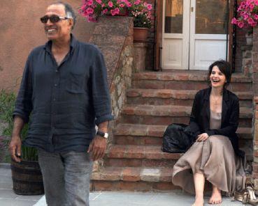 Juliette Binoche, Abbas Kiarostami