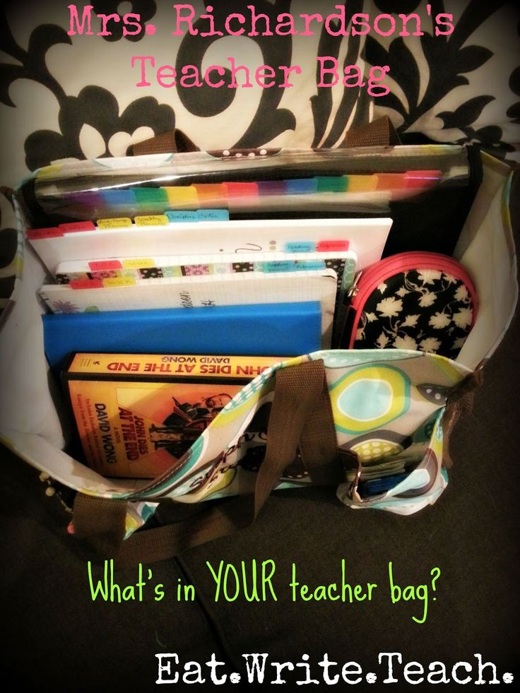 Eat. Write. Teach.: My Teacher Bag and the Other Random Crap I Keep Stashed in My Classroom