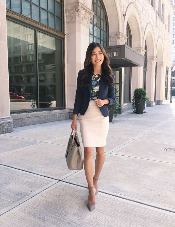 Workwear 4 Ways To Top Off Your Business Casual Outfit Extra Petite Work Outfits Women Heels Work Outfit Summer Work Outfits