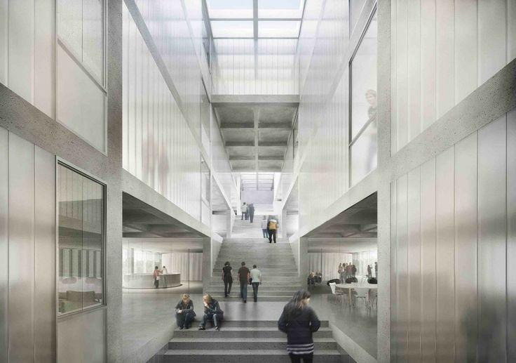 'Stairway to Heaven' Second Prize Winning Proposal / Arquitectos + Nomos Groupement d'Architectes + Pascal Heyraud Architecte Paysagiste