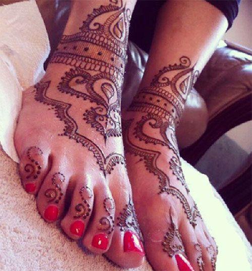 Mehndi Foot Tattoo : Best cool henna designs images on pinterest
