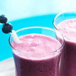 Blueberry Smoothies Recipe - Try refreshing Blueberry Smoothies from Ocean Spray for a treat the whole family can enjoy all summer long.
