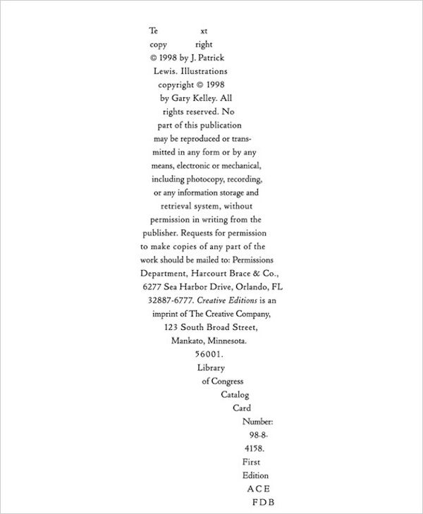 Copyright Text Designed In A Fun Typographic Way - DesignTAXI.com