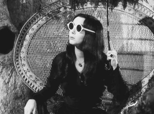 kvetchlandia:  Morticia Addams (Carolyn Jones)   c.1964