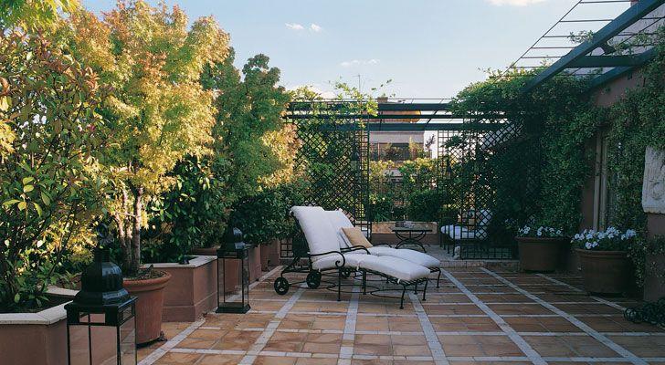 Ideas de jardines para casa tama o de la fuente mi - Jardines en aticos ...