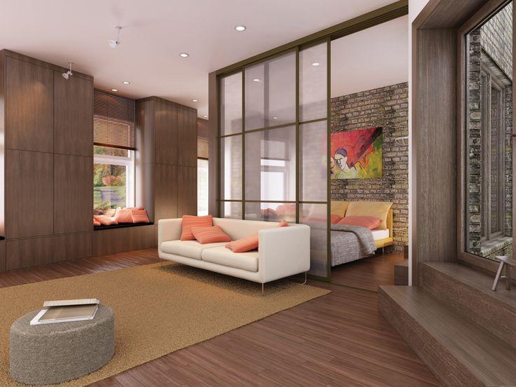 także niewielkie przestrzenie mogą być zaprojektowane w sposób funkcjonalny
