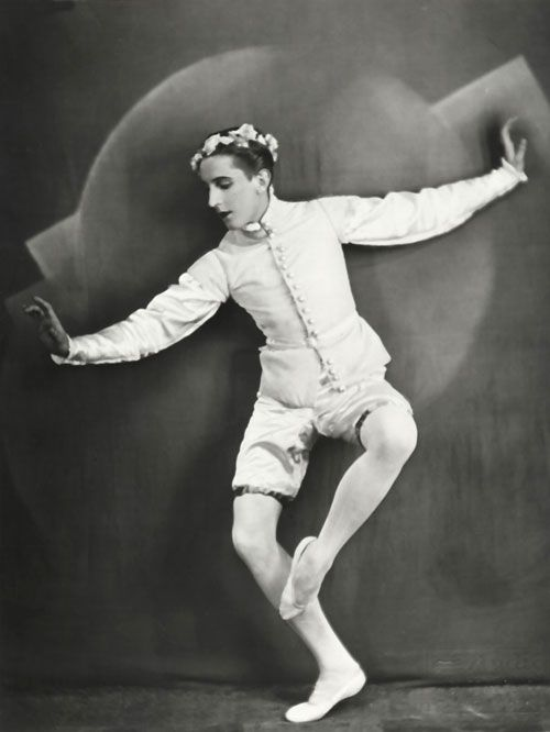 Leonide Massine, principal choreographer of Ballets Russes