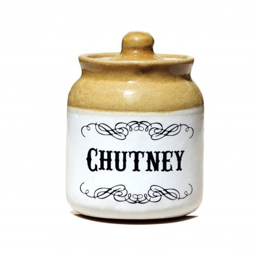 4007 - Chutney Ceramic Jar-1