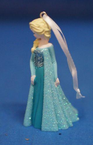 Frozen-Queen-Elsa-Disney-Christmas-Ornament-2014-Resin-3-034-Freestanding-Figurine