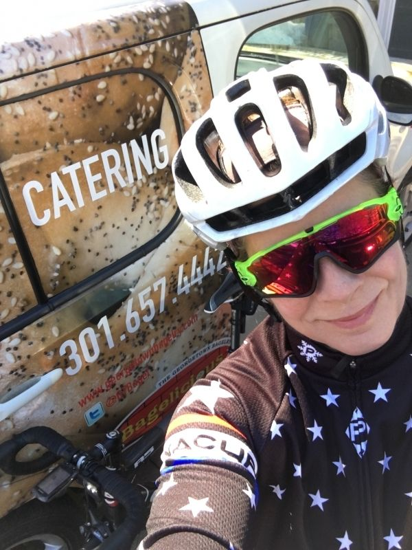 Help Mary raise $50,000 for globalbike, a non profit organization that provides bikes to community careworkers, and women and girls in Tanzania, Africa. #PoweredByBagels