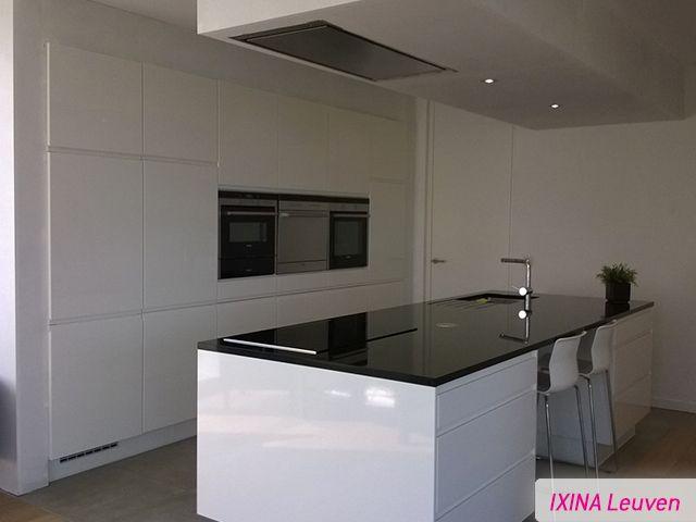 Keukens Ixina Lochristi : Keukenrealisatie IXINA Leuven Cuisine blanche Witte