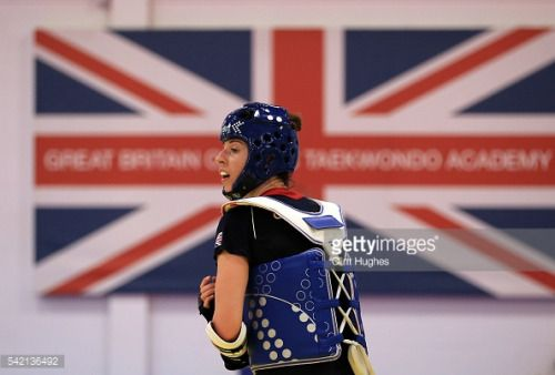 MANCHESTER, ENGLAND - JUNE 22: Bianca Walkden trains during the... #whitchurchgb: MANCHESTER, ENGLAND - JUNE 22: Bianca… #whitchurchgb