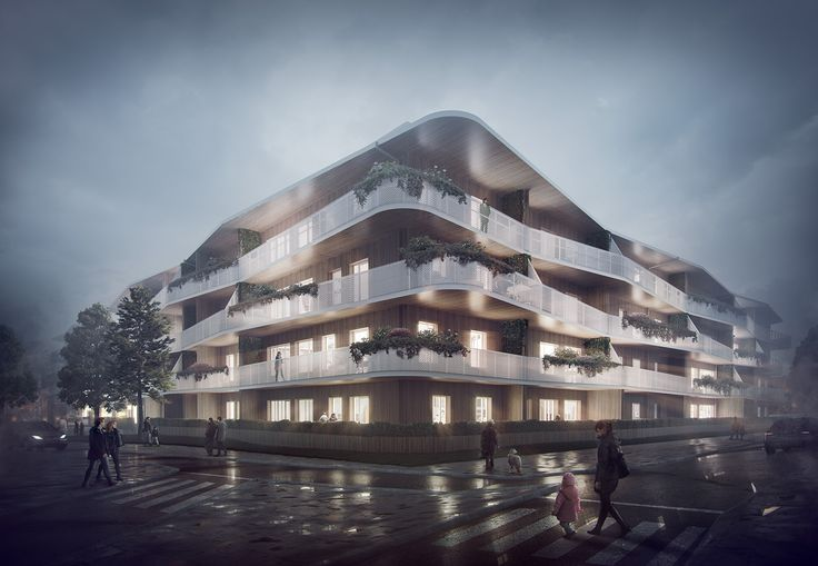 Karrliljan Residential Building on Behance