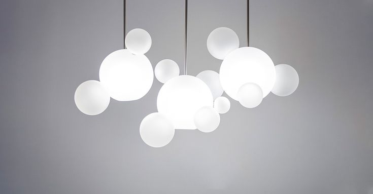 Bolle Frosted Chandelier BLS14L