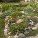 rock garden berm