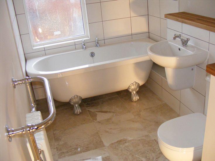 Bathroom Flooring Ideas Uk Part - 22: Tiled Marble Flooring In Leeds By UK Bathroom Guru