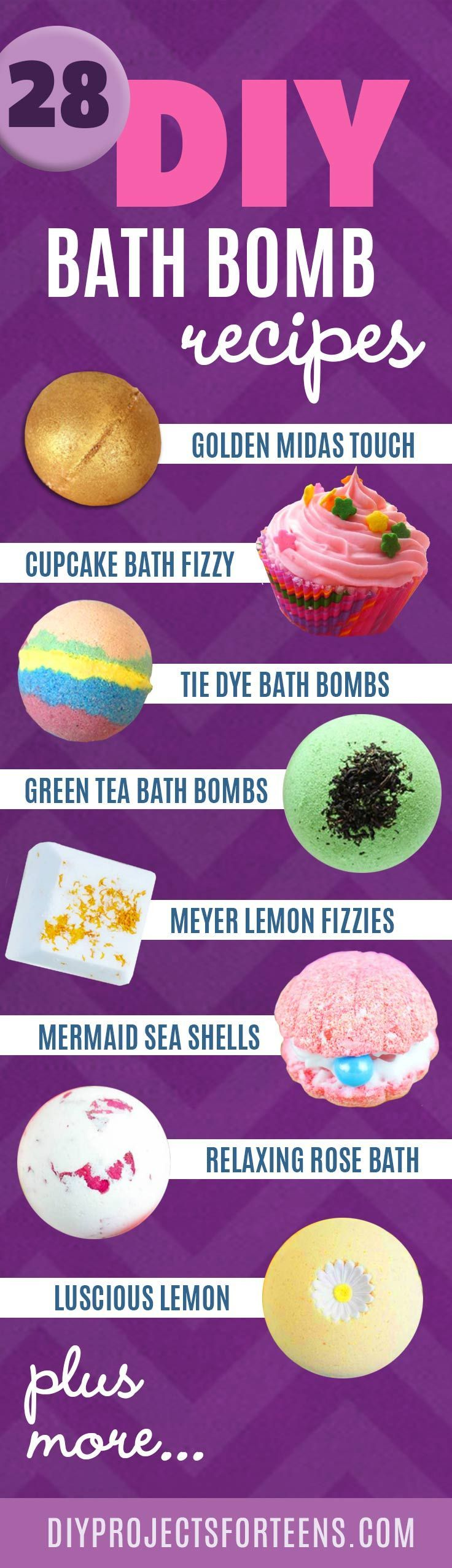 Homemade DIY Bath Bombs | Bath Bombs Tutorial and Recipes Like Lush | Pretty and Cheap DIY Gifts