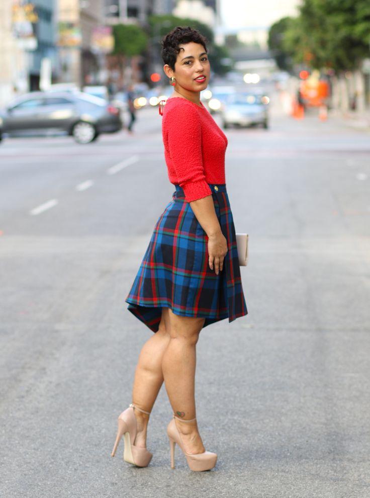 Diy Plaid Skirt Pattern Review V8956 Mimi G Style My