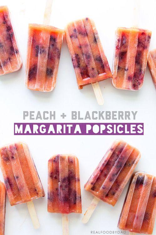 ... Recipes, Ice Cream, Blackberry Margarita, Daisies Popsicles, Peaches