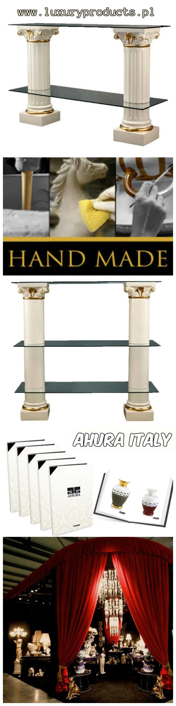 TV Ceramic Table Columns - Elegant #Design
