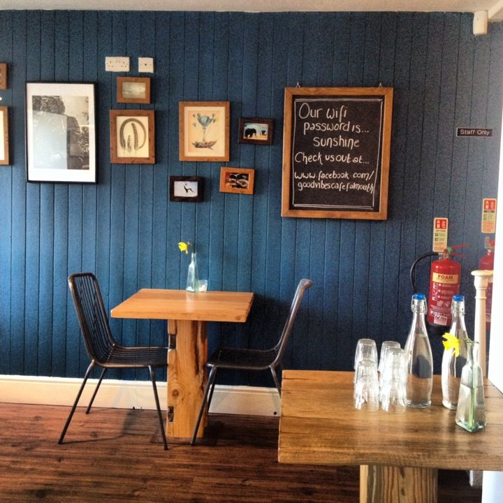 Good Vibes Café in Falmouth, Cornwall