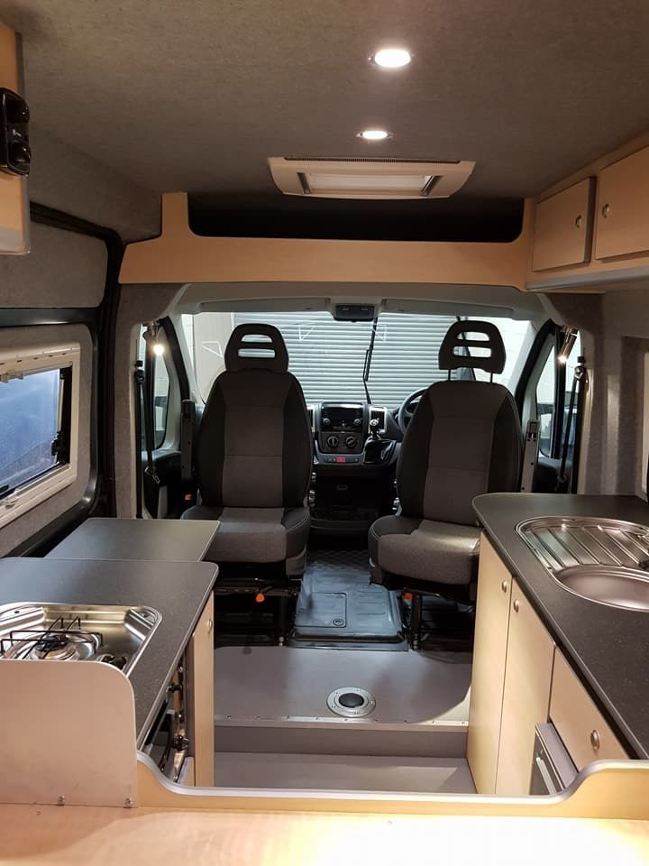 Fiat Doblo Camper Van Conversion Based In Wrexham North Wales