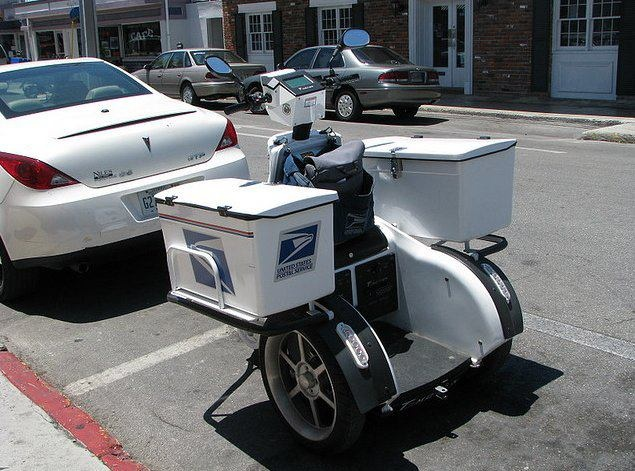 Mail Delivery Posters Usps Bikes