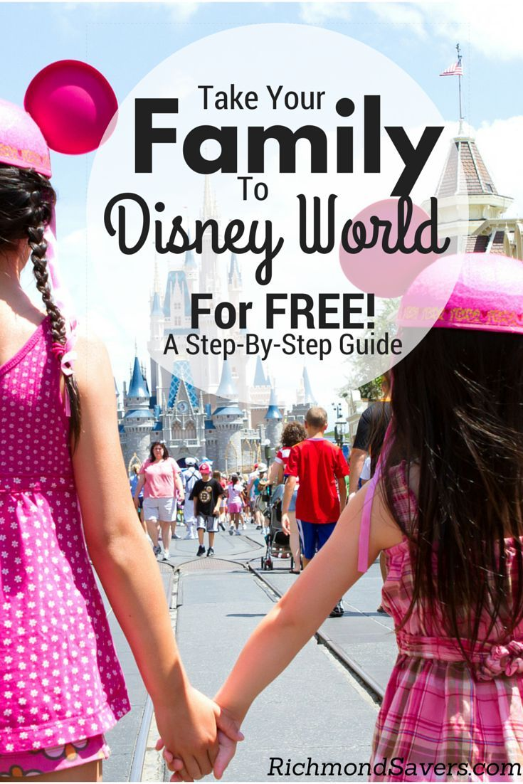 As featured in the New York Times, CBS and NBC, here's our step-by-step guide on how to take a nearly free family trip to Walt Disney World ($4,000+ savings) using credit card rewards points! http://www.richmondsavers.com/take-your-family-to-disney-world-for-free-step-by-step-instructions/ tips to save money on travel #traveltips