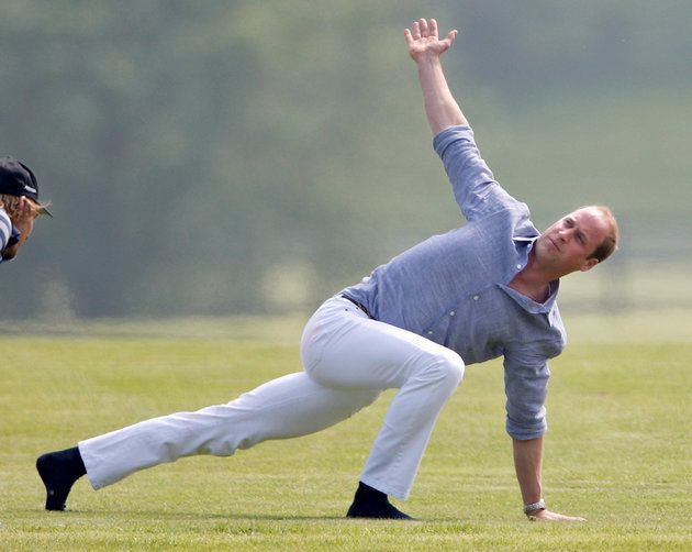 Only Prince William Could Get Away With This Yoga Outfit