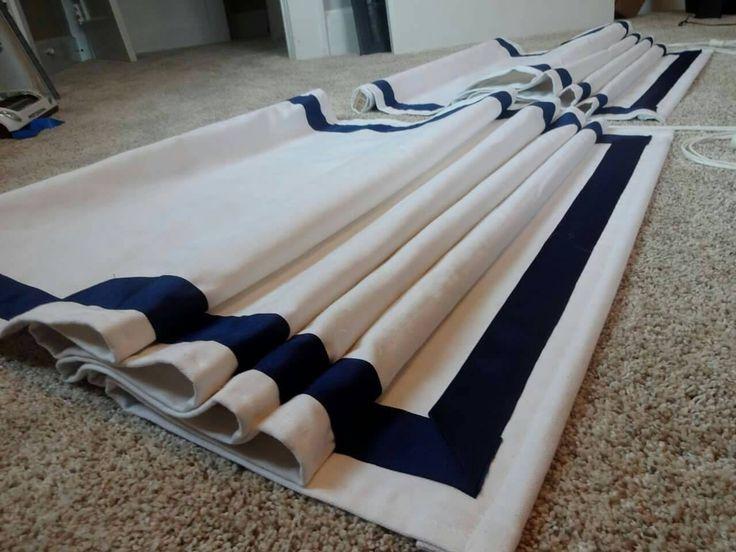 Roman Shade, Custom, Ribbon Shades, You provide the  fabric of your choice. Blackout roman shade option by SewLovelybyKelly on Etsy https://www.etsy.com/listing/455982692/roman-shade-custom-ribbon-shades-you
