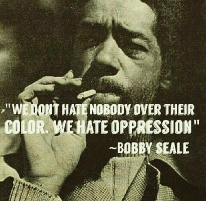 Bobby Seale was a co-founder with Huey P. Newton of the Black Panther Party. They studied together at Merritt College and share many of the same ideologies on civil rights and capitalism.