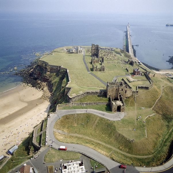 Tynemouth Priory and Castle - English Heritage. Open daily, April to October, and weekends only, November to March.