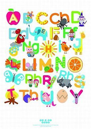 Welsh Alphabet Poster