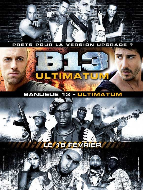 Banlieue 13 French 11x17 Movie Poster 2004 Etriggerz Wall Decor Accents Furniture And More Www Etrig Movie Posters Fight Movies Blockbuster Movies