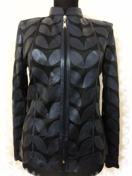 Buy Online Handmade Very Soft Genuine Lambskin Leather Leaf Jackets for Women. All Colours , Regular and Plus Sizes. Free Shipping , Returnable. [ BUY 2 SAVE $20 ] ...