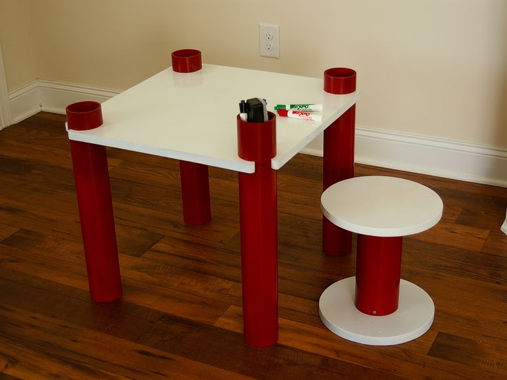 148 best pvc crafts images on pinterest pvc pipes pvc for Pvc pipe crafts