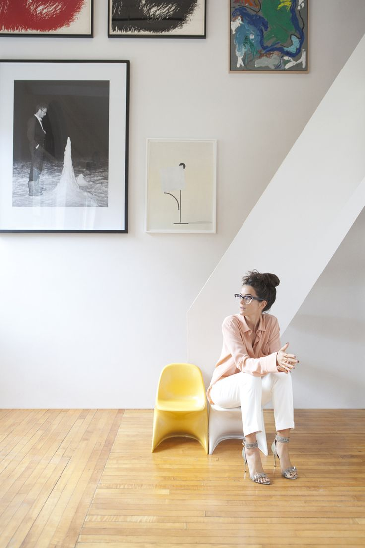 ♥ her...Lucy Chadwick, Brooklyn, 2012. Click below for article. http://www.net-a-porter.com/magazine/#/141/17