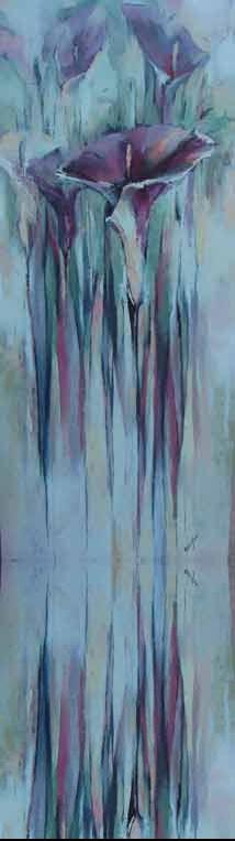 Calla-Steif Acryl auf by Elena Filatov