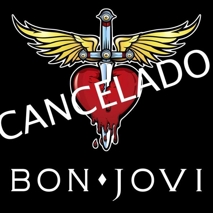 BON JOVI CANCELA SU CONCIERTO EN MEXICO!!! ;(
