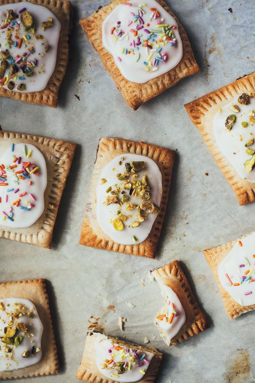 Pistachio Bakewell  Pop Tarts / Molly yeH