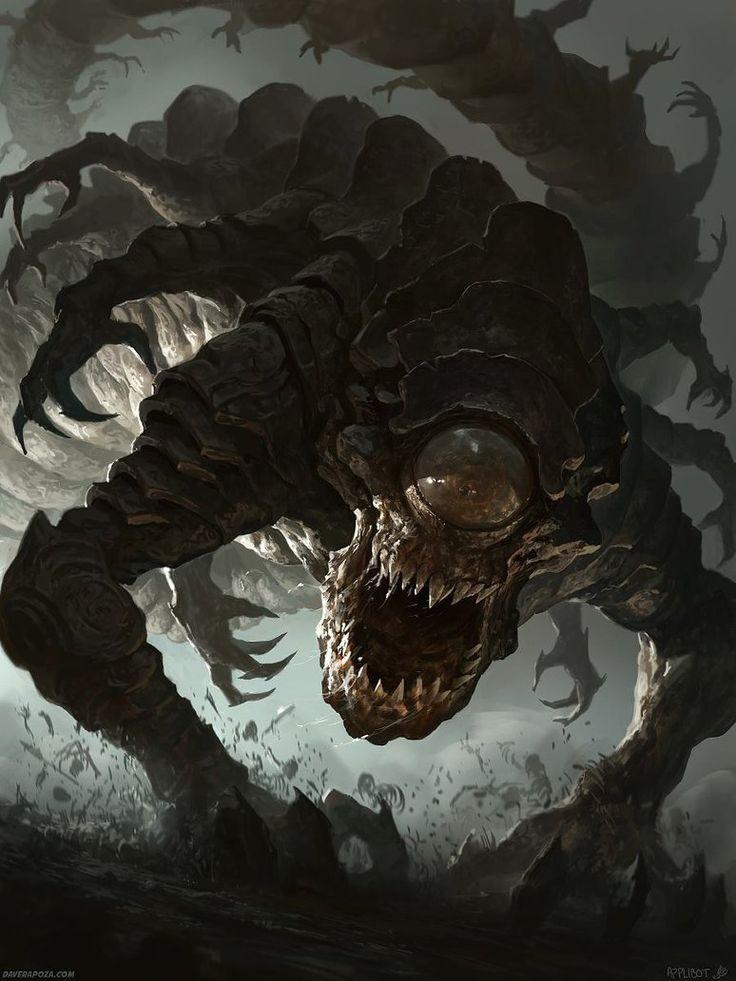 The Angriest Worm by DavidRapozaArt on deviantART