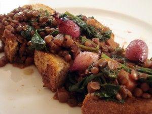 wine braised lentils photo 300x225 | Recipes I've Made | Pinterest