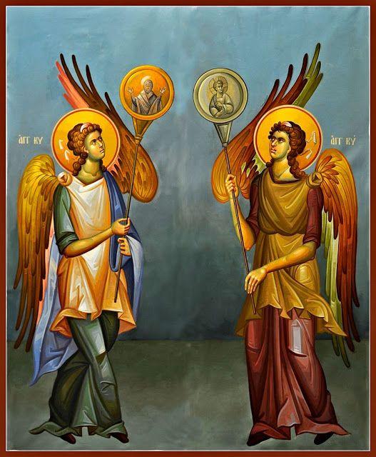 Η ιστορία των δύο αγγέλων…(Αξίζει να το διαβάσετε)   ΑΡΧΑΓΓΕΛΟΣ ΜΙΧΑΗΛ