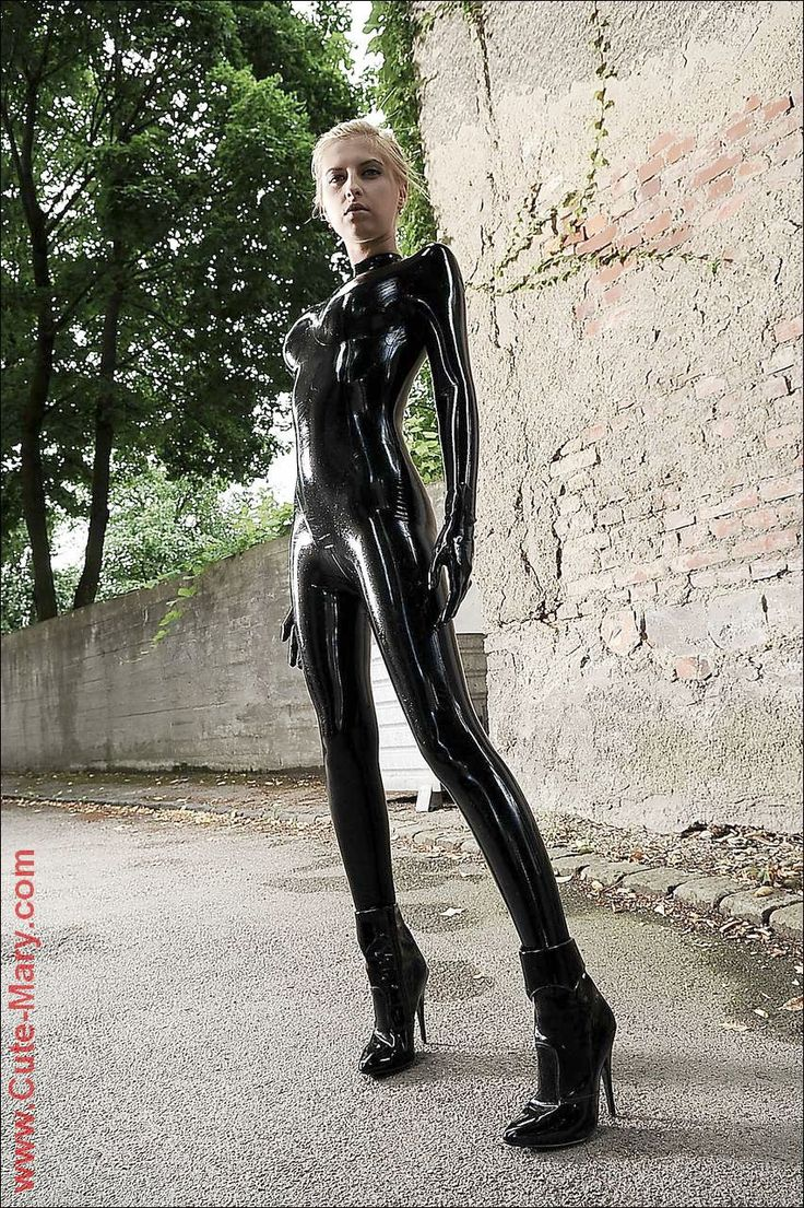 Latex Letter%0A Cute Mary in latex catsuit   Stunning    Pinterest   Latex catsuit  Catsuit  and Latex