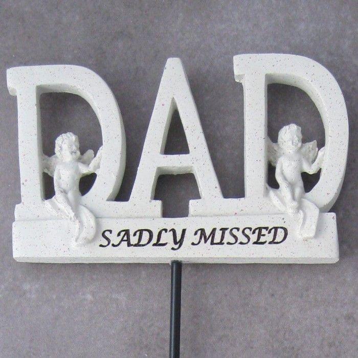 Dad Memorial Stick available here http://graangels.ie/memorial