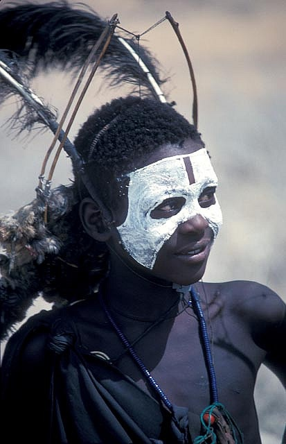 Africa |  A boy from the Kikuyu tribe. Photograph taken in Tanzania by deepchi1 on Flickr.