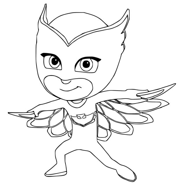 Pj Masks Coloring Pages To Print