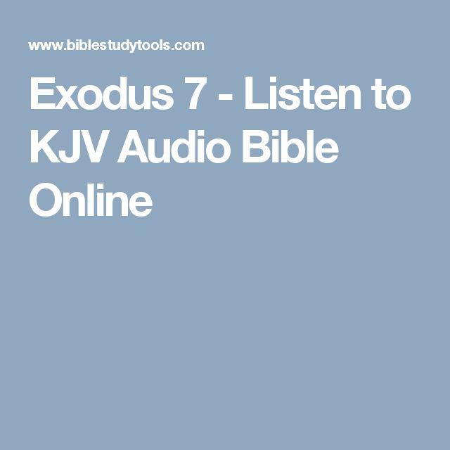 Exodus 7 - Listen to KJV Audio Bible Online
